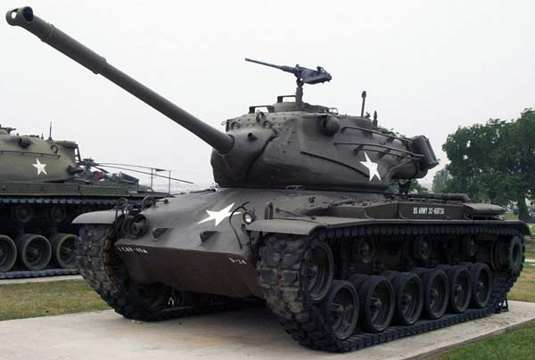 Средний танк M47 Patton II (США)