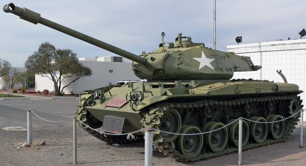 Лёгкий танк M41 Walker Bulldog (США)